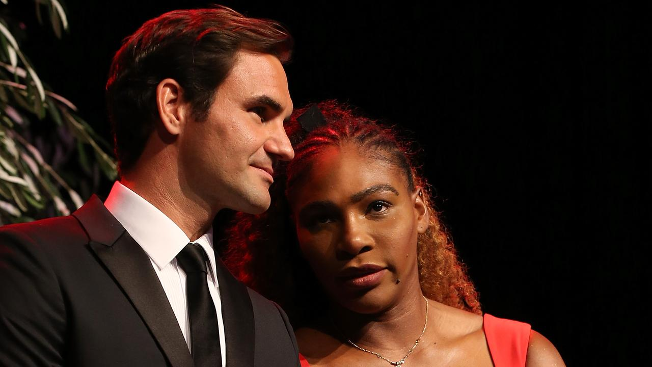 Roger Federer Serena Williams Result Hopman Cup In Perth Mixed