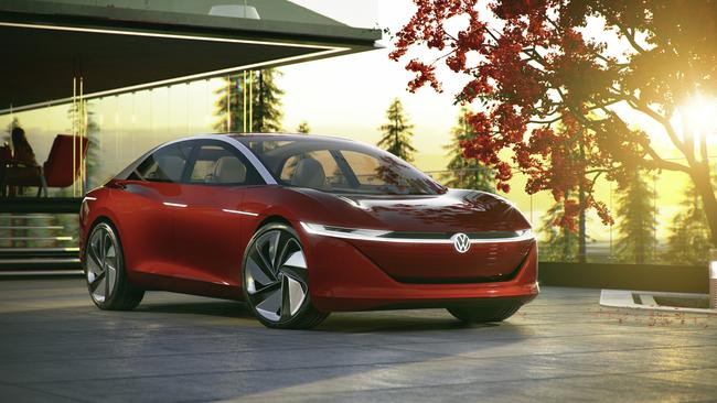 The Vizzion hints at future styling for Volkswagen. Pic: Supplied.