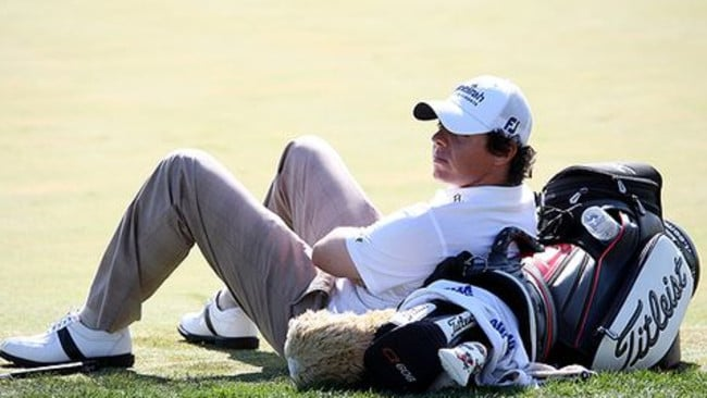 Titleist had Rory's back for years.