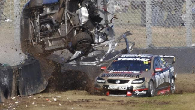 Jonathon Webb has been fined for causing Todd Hazelwood's horror crash.