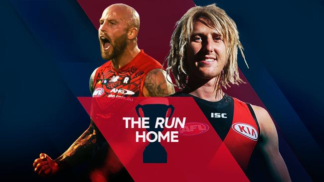 How will the rest of the season play out? See each club's future in The Run Home.