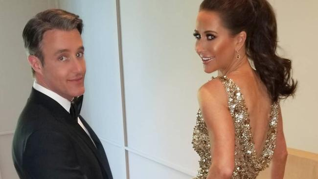 Ben and Jessica Mulroney ahead of the royal wedding reception in 2018. Picture: Instagram
