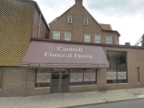 The funeral home where the babies were found. Picture: Supplied