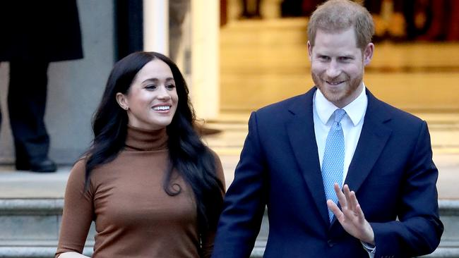 Harry and Meghan's return to the UK comes at the same time as The Cambridge's trip to Ireland. Picture: Getty Images.
