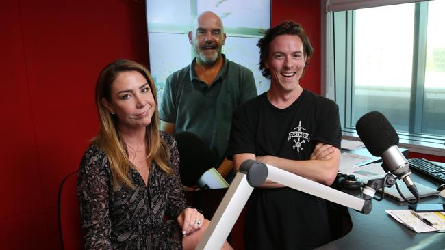 Kate Ritchie, Marty Sheargold and Tim Blackwell. Picture: Britta Campion/The Australian