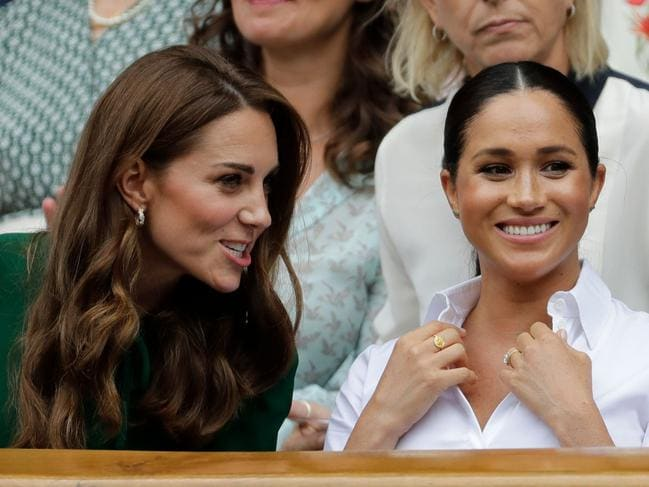 Meghan has also boosted the public profile of other royals, including her alleged 'rival' Kate. Picture: Ben Curtis / POOL / AFP