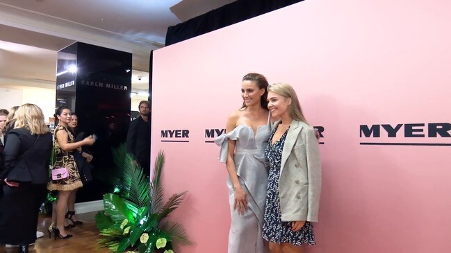 RAW: Arrivals at the Myer Spring Summer 2018 launch in Sydney