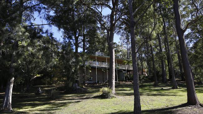 A view of the house in Benaroon Drive in Kendall, William Tyrell went missing. Picture: David Moir/The Australian