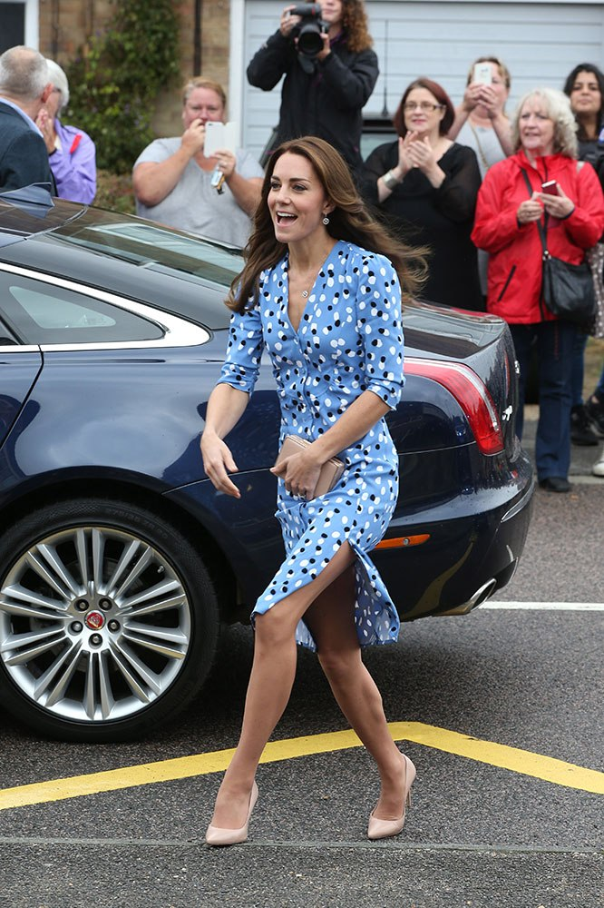 Kate Middleton attends an official engagement in Essex in 2016. Image credit: Getty Images