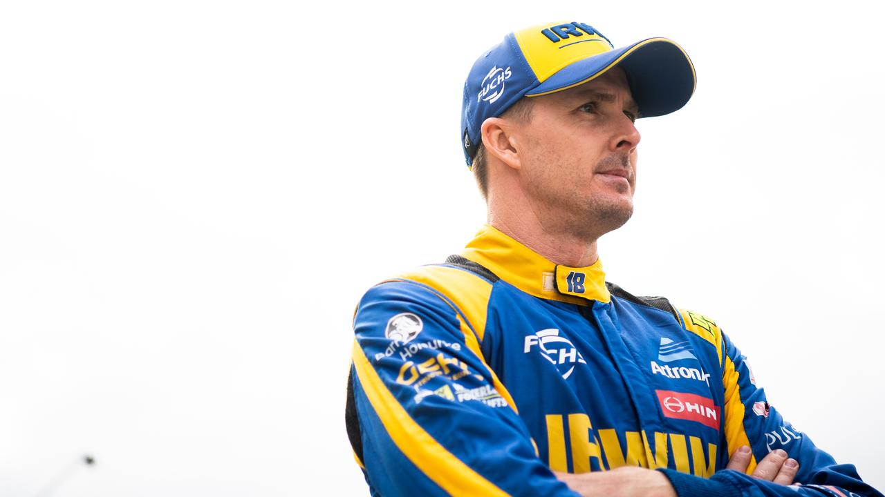 Mark Winterbottom had pace to burn, but Sunday at The Bend was a shocker.