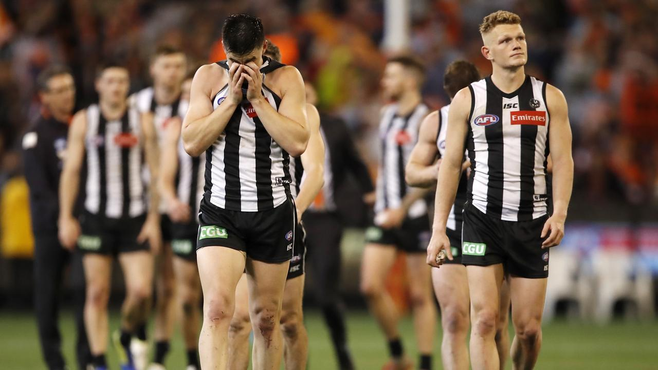 Did the pre-finals bye hurt the Pies? Photo: Dylan Burns/AFL Photos.