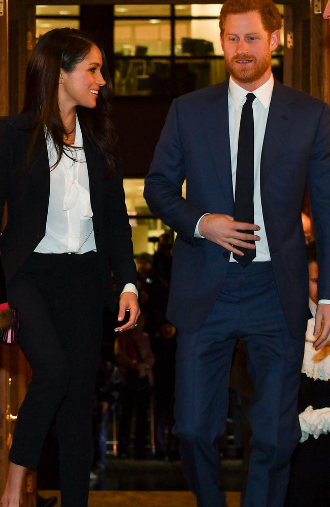 In 2018, the event came just a few months before their May 19 wedding. Picture: AFP