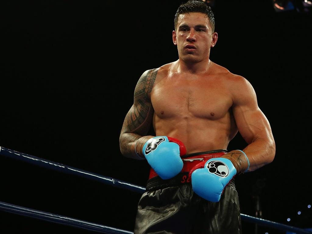 Sonny Bill Williams hasn't fought professionally since 2015.