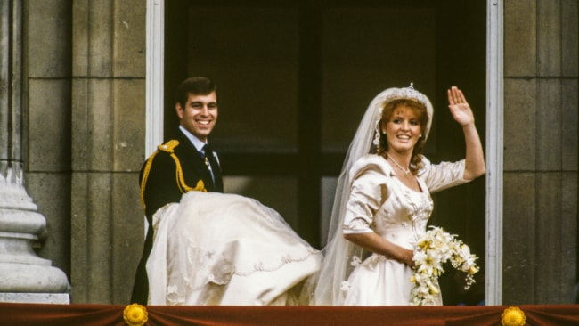 The Princess' parents on their wedding day in 1986. Image: Derek Hudon/Getty Images.