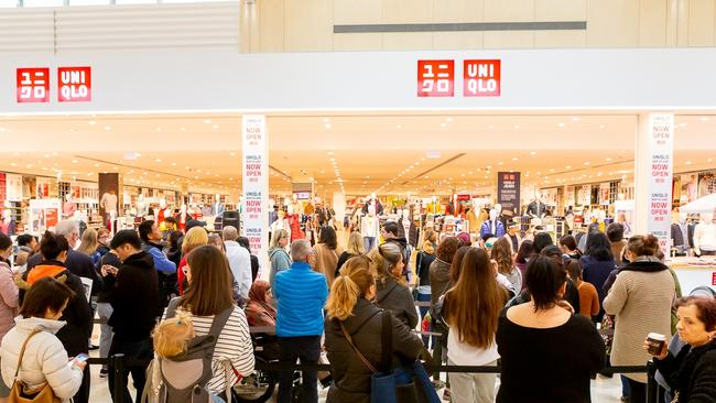 Uniqlo now has more than 20 stores in Australia.
