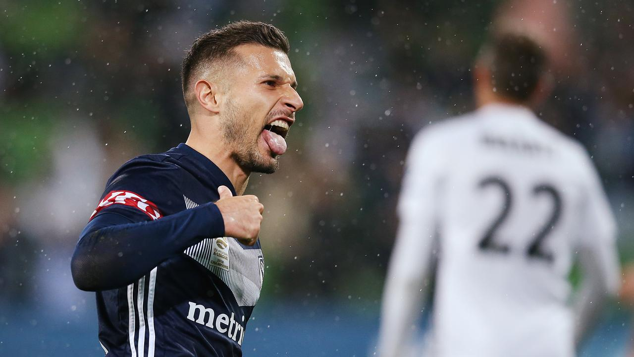 Kosta Barbarouses topped Melbourne Victory's goalscoring charts last season. (Photo by Michael Dodge/Getty Images)
