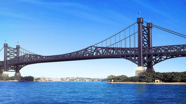 The pair went on to design successful bridges around the world. Picture: Budget Direct Travel Insurance
