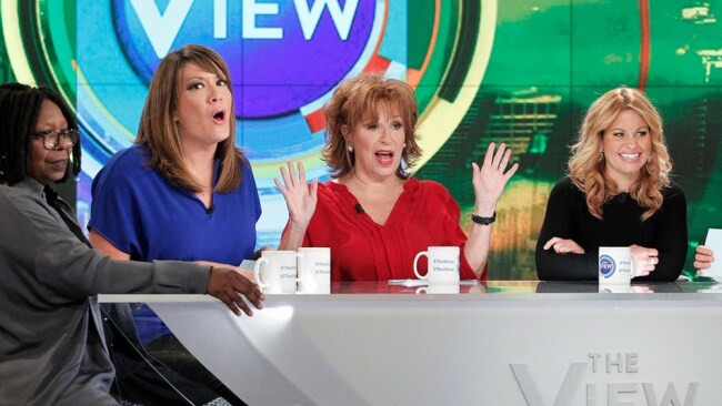 Some of the regular ladies on The View. Photo: American Broadcasting Corporation