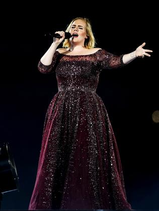 Adele's 25 record remains intact. (Photo by Cameron Spencer/Getty Images)