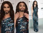 Conchita Wurst attends amfAR's 21st Cinema Against AIDS Gala. Picture: Getty