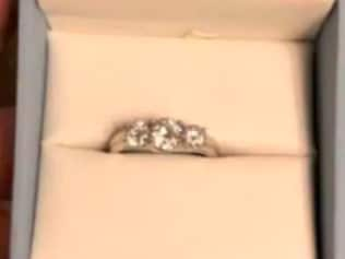 "A women shared a picture of this ring and called it ""basic"" before he'd even proposed. Harsh."