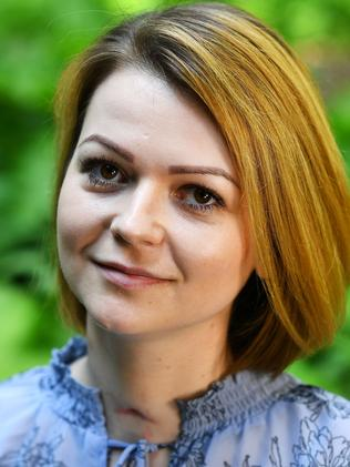 Yulia Skripal was also left seriously ill. Picture: AFP