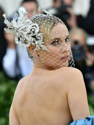 Diane Kruger attends the 2018 Met Gala in New York City. Picture: AFP