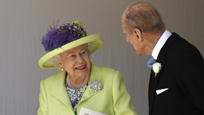 The Queen and her husband, Prince Philip. Picture: Alastair Grant/WPA Pool/Getty Images