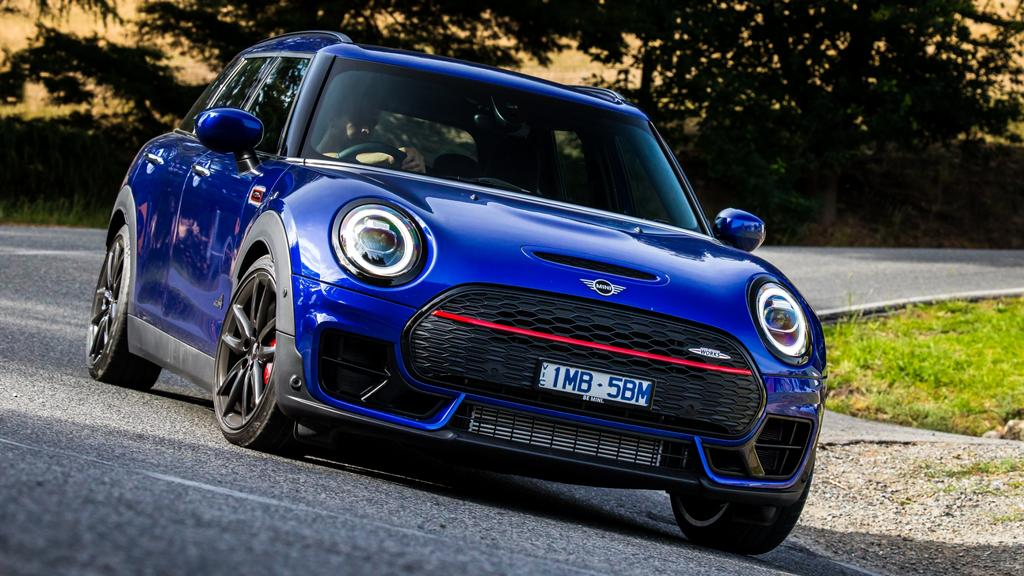 The new Clubman JCW is the brand's fastest vehicle yet.