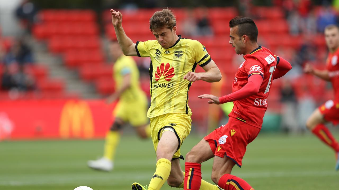 Wellington Phoenix claimed a massive scalp in Adelaide.