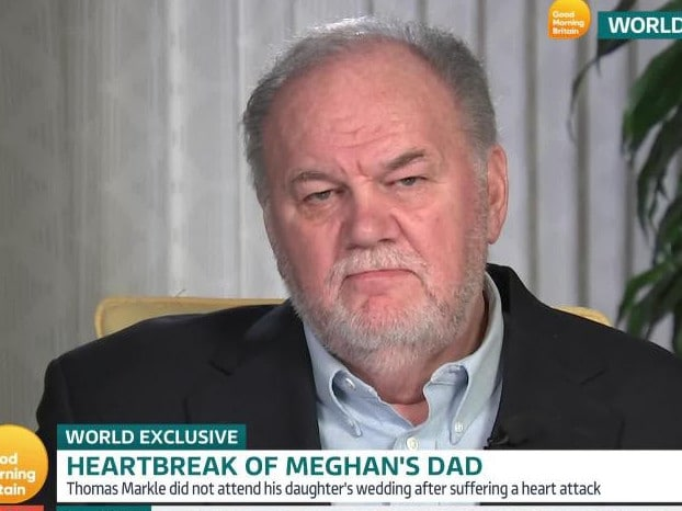 Thomas Markle during his appearance on Good Morning Britain.