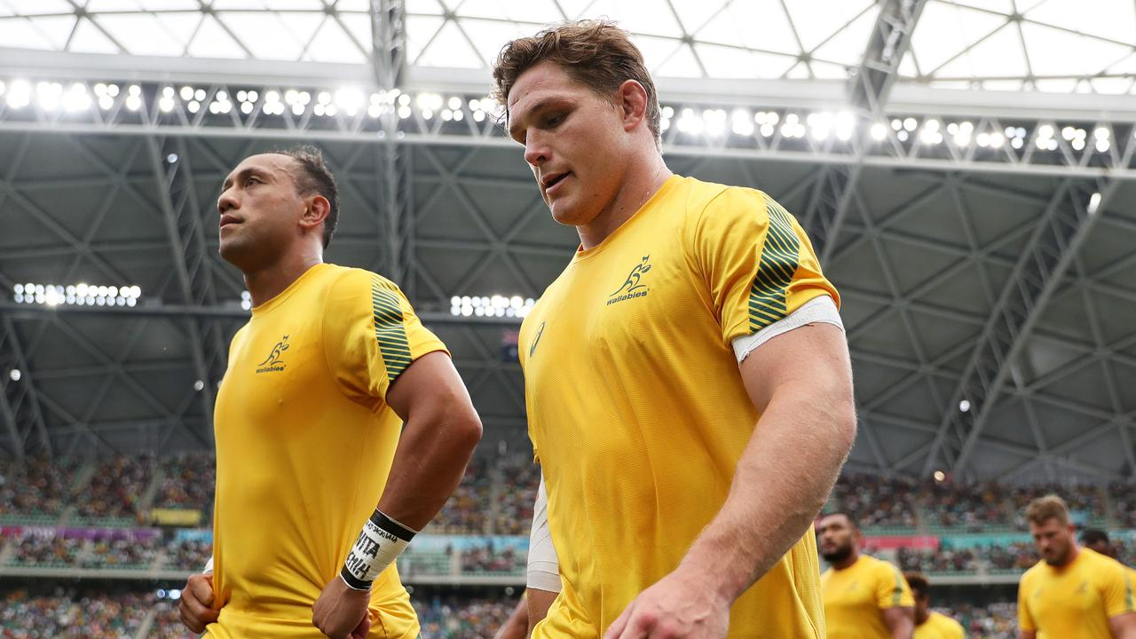 Michael Hooper is set to become the longest-serving Wallabies captain. (Photo by Dan Mullan/Getty Images)