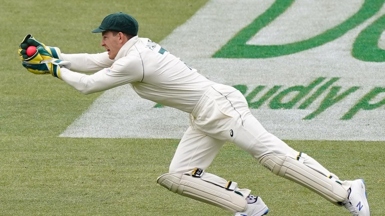Aside from one fluffed stumping, Tim Paine was excellent behind the stumps.