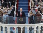President Donald Trump delivers his inaugural address after being sworn in as the 45th president of the United States during the 58th Presidential Inauguration at the U.S. Capitol in Washington on January. 20, 2017. Picture: AP