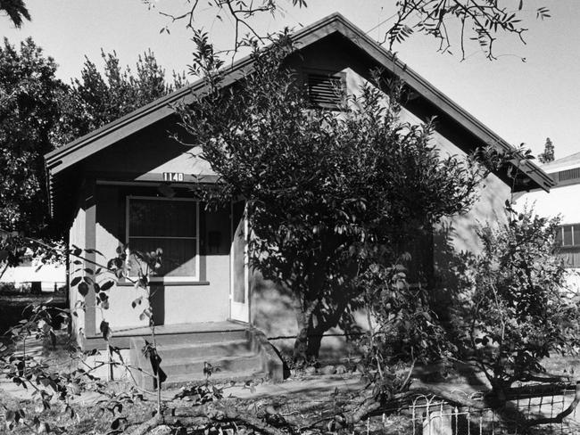Hooker's home where Colleen Stan was held. Picture: Owen Brewer/Zuma/Alamy