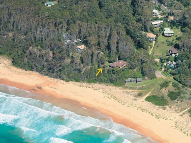 The private property in Rosedale that Kidman sold.