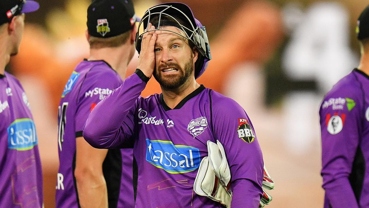 Matthew Wade of the Hobart Hurricanes made another big score on Monday night.