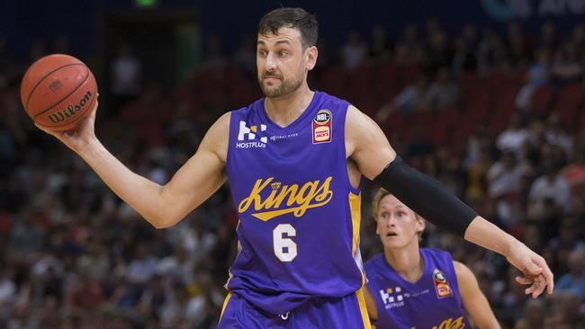 Andrew Bogut was a huge signing for the NBL. Picture: AAP Images