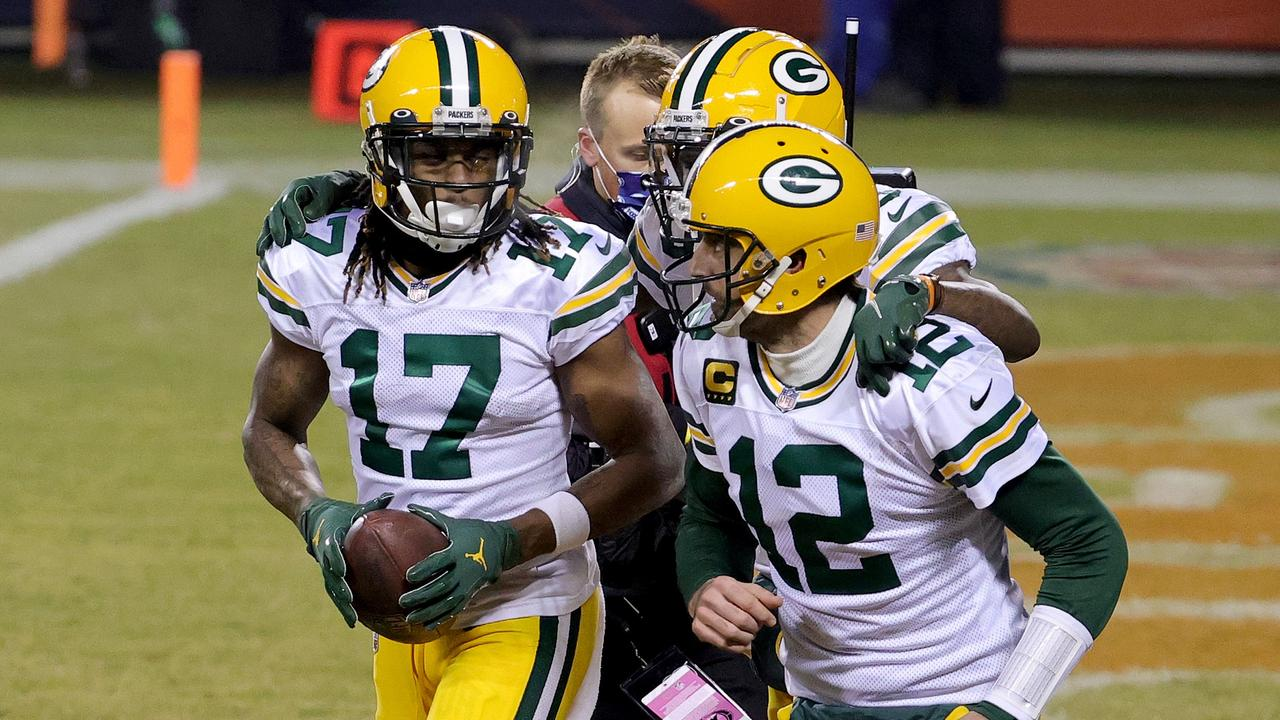 Green Bay are solid favourites to advance to the NFC title game for a second straight year. Photo: Jonathan Daniel/Getty Images/AFP