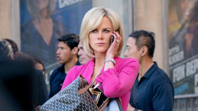 Nicole Kidman is fierce as Gretchen Carlson.