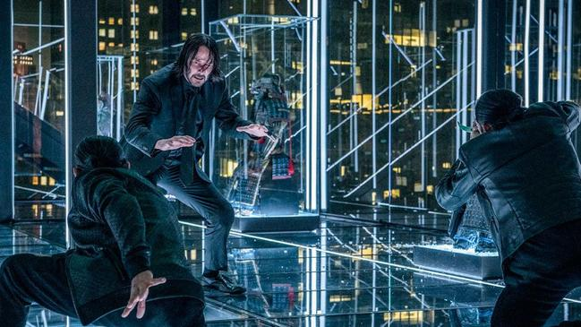 Keanu Reeves in a scene from the movie John Wick: Chapter 3 – Parabellum. Picture: Studiocanal.