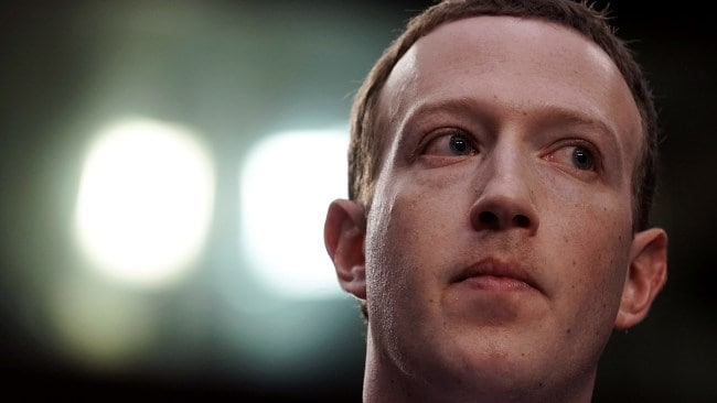 Facebook has promised to place restrictions on its live function. Picture: Alex Wong Source: Getty Images/AFP
