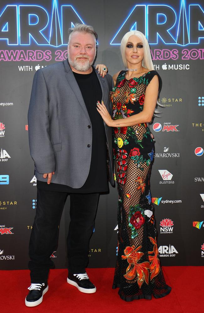 Kyle Sandilands Girlfriend Imogen Anthony In Nude Photo Shoot  The Courier-Mail-5767