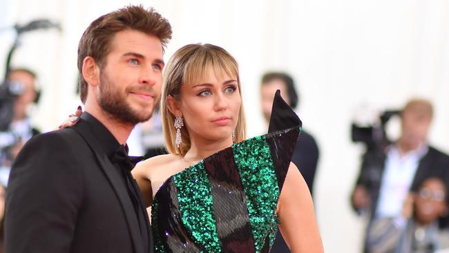 The former couple at the 2019 Met Gala. Picture: Angela Weiss/AFP