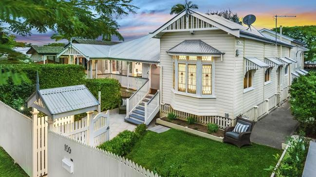 This three-bedroom house at 109 Oriel Rd, Clayfield, recently sold for $1.305 million.