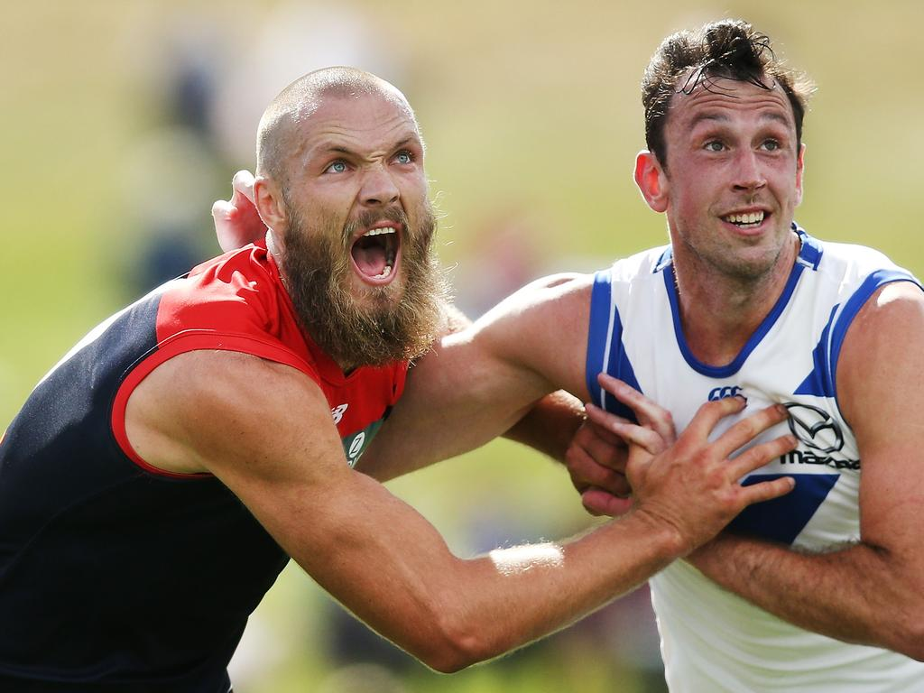 North Melbourne v Melbourne - JLT Community Series