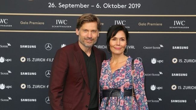 Nikolaj and Nukaka. Image: Getty Images for Zurich Film Festival