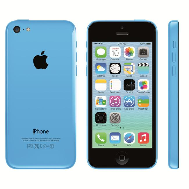 An iPhone 5C like the one the FBI tried to force Apple to unlock.