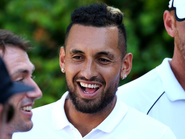 Nick Kyrgios has a track record of drinking alcohol before major tennis events.