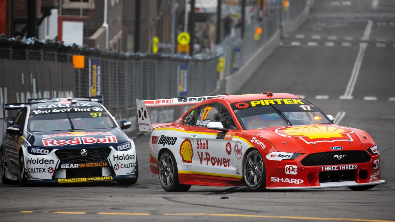 The leading Ford and Holden teams' line-ups will be unchanged. Picture: Daniel Kalisz